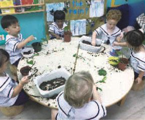 幼稚園の一日
